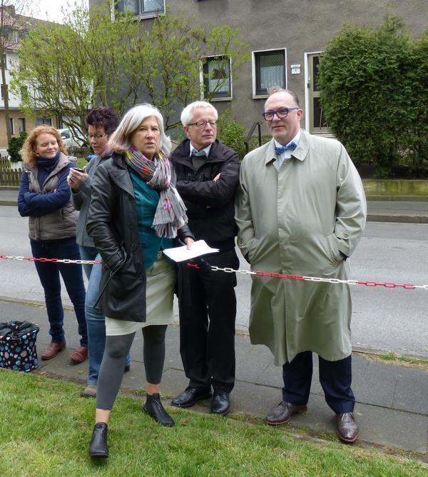 Dorothee von der Stein, Pfarrer Dr. Ulrich Seng, Andrreas Weischede