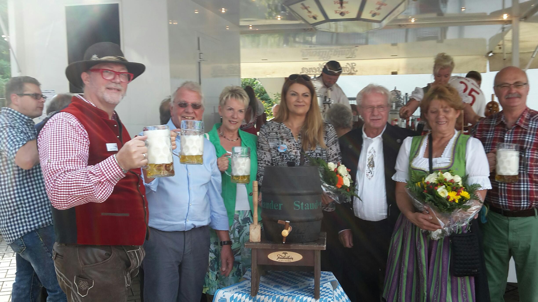 v.l.: Andreas Weischede, Klaus-Dieter Pfahl, Christiane Moos, Medina Mesanovic, Reinhardt Gawlick, Monika Dürr, Bernhard Tonner