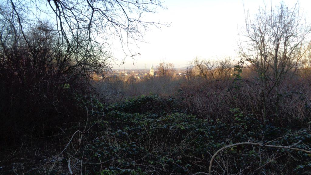 Blick vom Ziegeleigelände auf das Emschertal