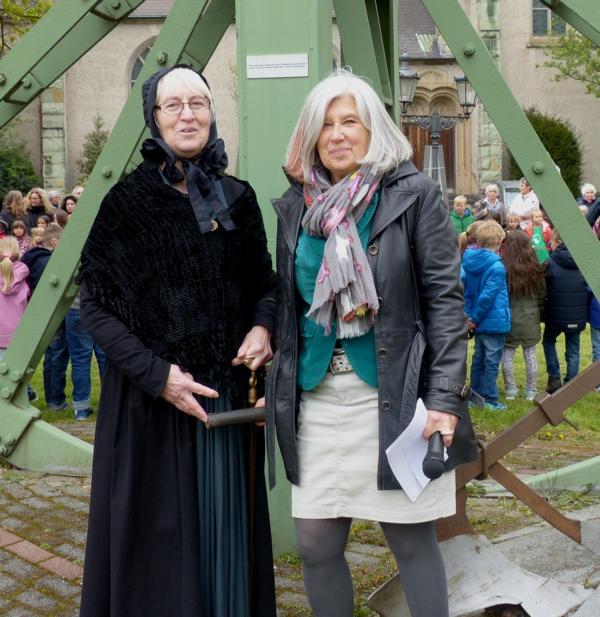 Erika Ode und Dorothee von der Stein